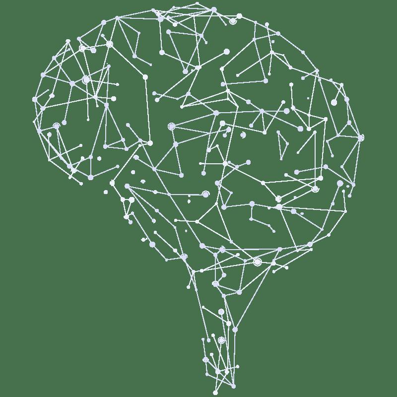 Brain Wireframe Derogatis™ Psychological Assessments