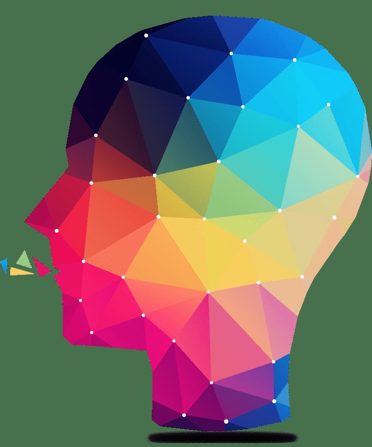 Drawing of a head Derogatis™ Psychological Assessments